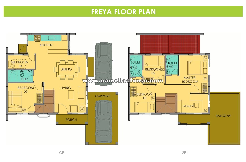 Freya  House for Sale in Alfonso