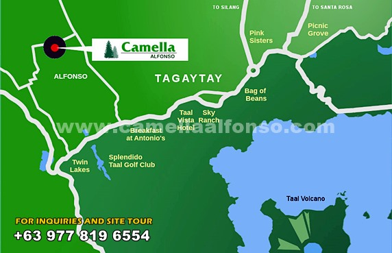 Camella Alfonso Location and Amenities