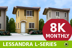 Lessandra Affordable Houses in Camella Alfonso